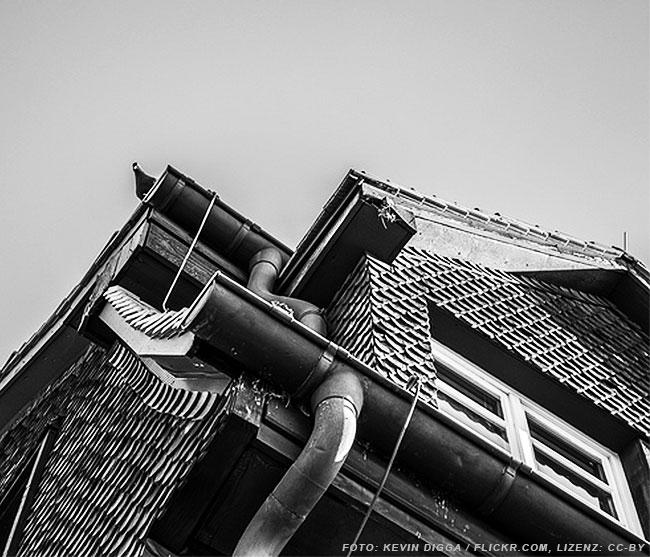 Bleche aus Titanzink: Ideal zur Dachentwässerung